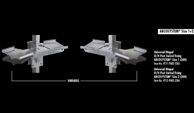 ARCOsystem bracketing