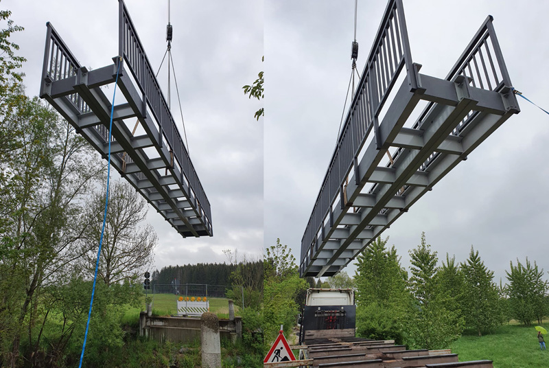 Composite bridge application