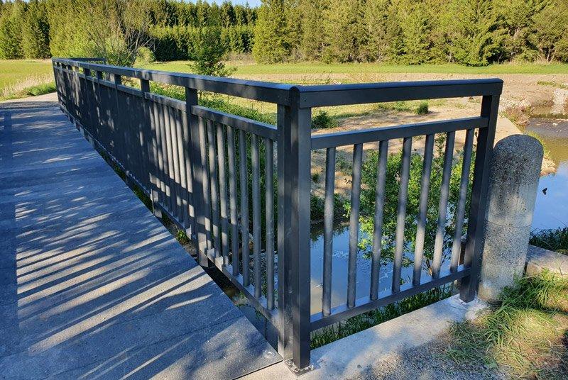 Composite bridge structures