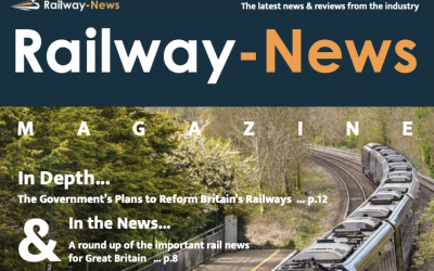 CCS featured in Railway News magazine