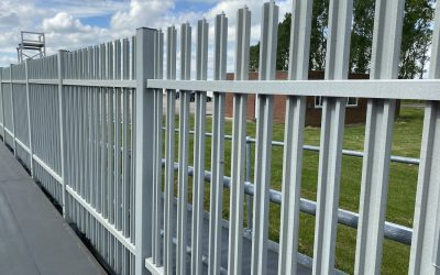 Introducing. . . TouchSAFE® composite Palisade Fencing